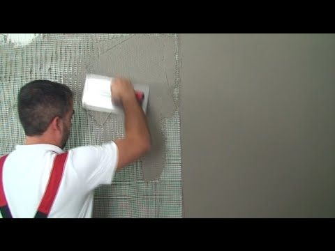 ISOMAT: Application of decorative cement mortar system on gypsum board