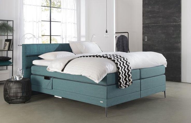 OPTISLEEP boxspring met de nieuwste collectie * De Ploeg *meubelstoffen gestoffeerd, stijlvolle slaapkamer bij Slaapkenner Theo Bot! www.theobot.nl