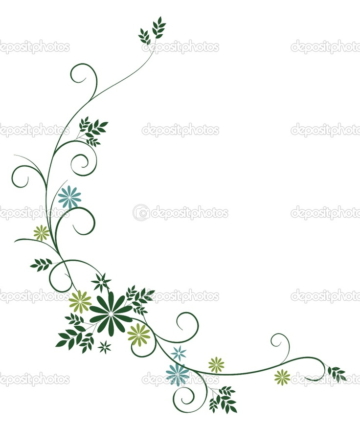 Flower Plant Line Drawing : Drawings of vines and flowers wild flower
