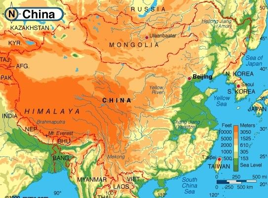 Geography of China, Beijing private tour guide , bus tour service