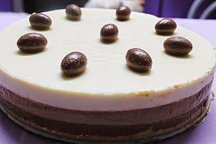 Las recetas de María : TARTA 3 CHOCOLATES!