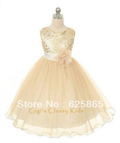 Nuevas-muchachas-vestido-dorado-de-lujo-tamaño-8-fiesta-navidad-niña-de-las-flores-pascua-graduación.jpg (414×493)