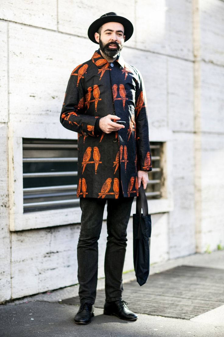 50 of the Best Street Style Snaps from Milan Men's Fashion Week Fall 2014 - theFashionSpot