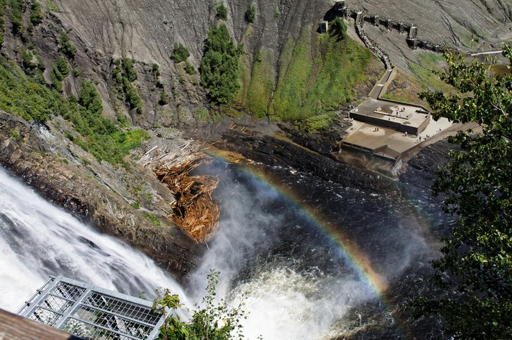 The Montmorency Falls in Quebec | 15 Surreal Places That Prove Canada Is A Breathtaking Country