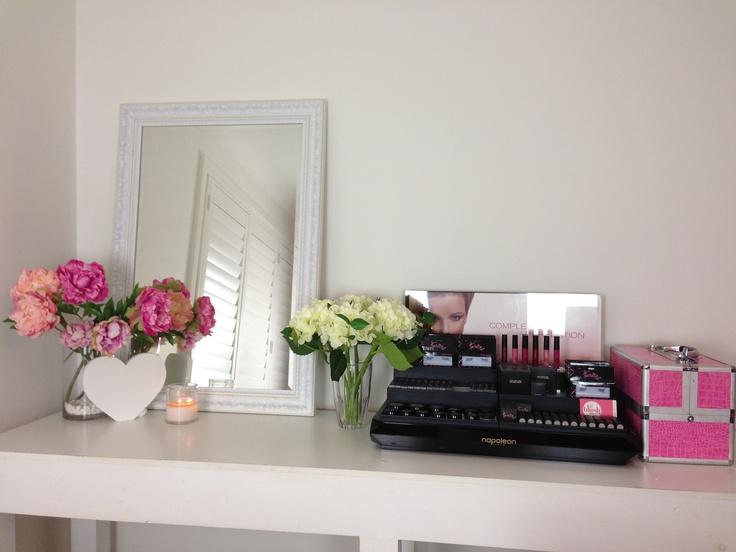 Our beautiful Blush Brides Makeup Studio