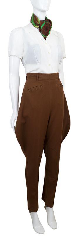 1940s Riding Pants at ballyhoovintage.com