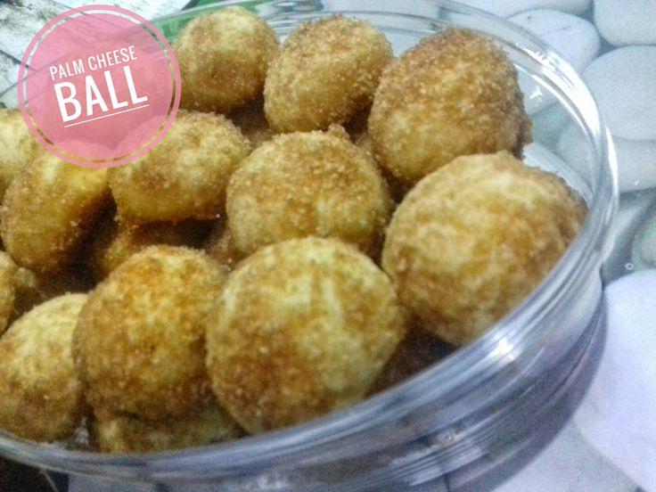 Palm cheese ball