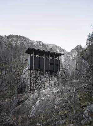 Peter Zumthor's Allmannajuvet Zinc Mine Museum in Sauda, Norway | Yellowtrace