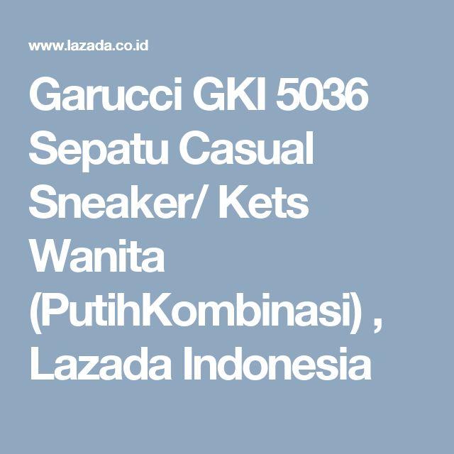 Garucci GKI 5036 Sepatu Casual Sneaker/ Kets Wanita (PutihKombinasi) , Lazada Indonesia