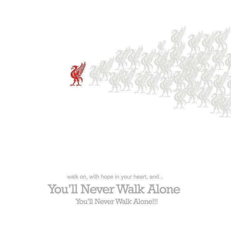 ☼ #LFC #artwork You'll Never Walk Alone #YNWA
