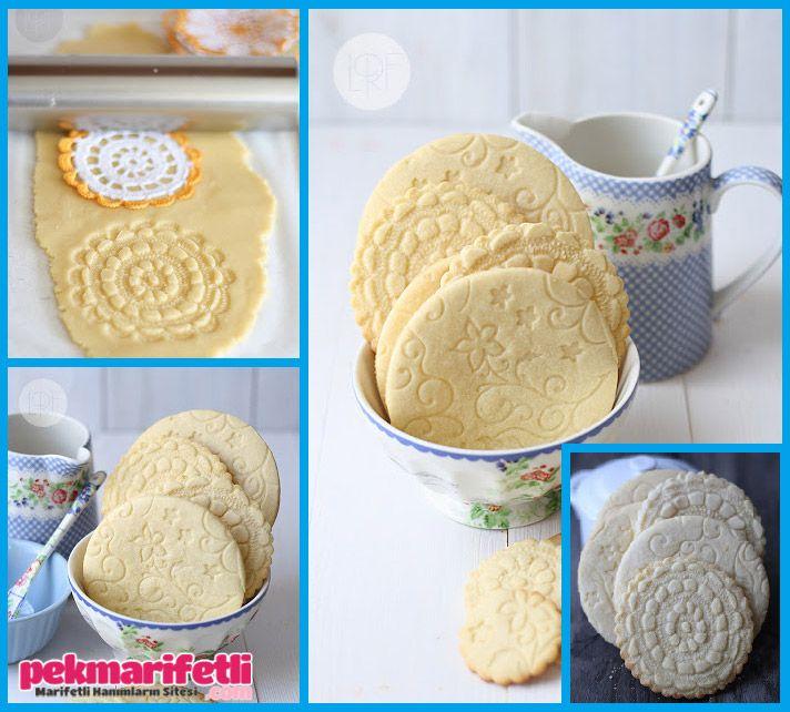 Dantel desenli kurabiye nasıl yapılır?
