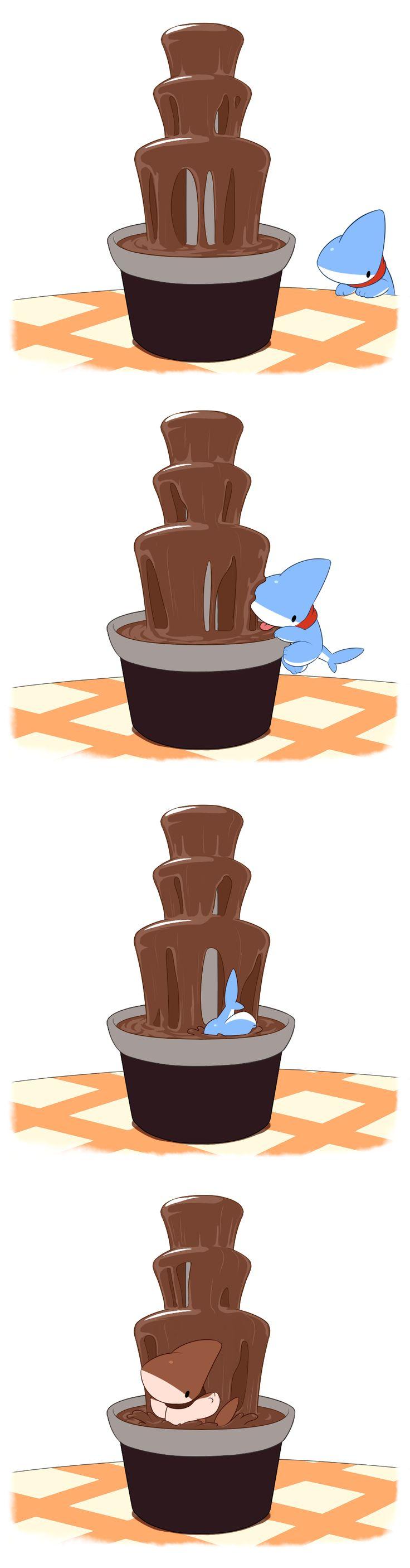 Chocolate+Fountain+by+0Vress0.deviantart.com+on+@DeviantArt