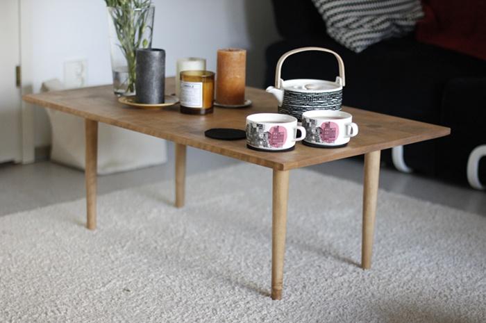 A cute coffee table.