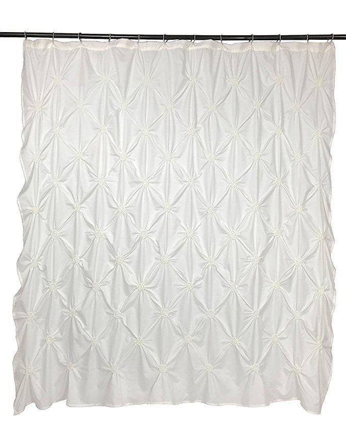 Amazon Com Vcny Home Floral Burst Shower Curtain 72x72 Off