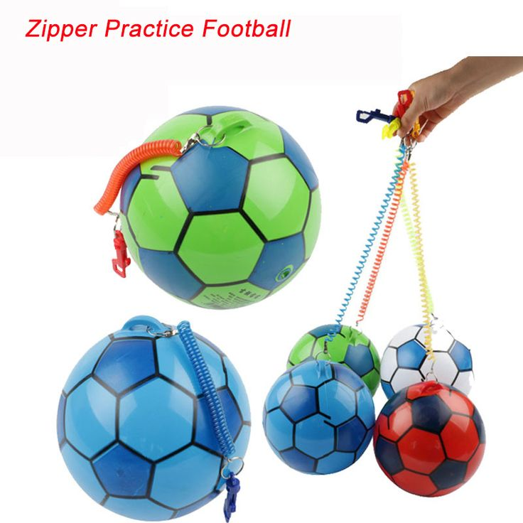 CCINEE 1PCs Zipper Practice Soccer Ball Football For Sale Sports Balls Goal For Younger Teenager Game Match Training Equipment #Affiliate