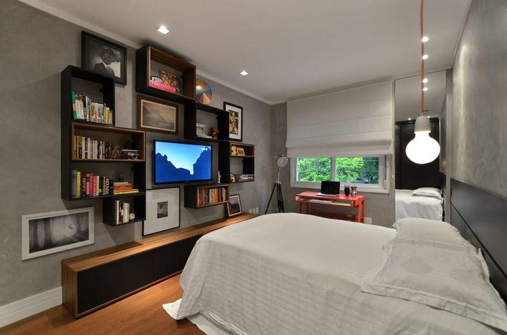 Navegue por fotos de Quartos : Dormitórios adolescentes!. Veja fotos com as melhores ideias e inspirações para criar uma casa perfeita.
