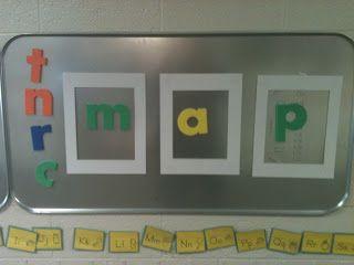 "A Differentiated Kindergarten: Simple word work ("",)"