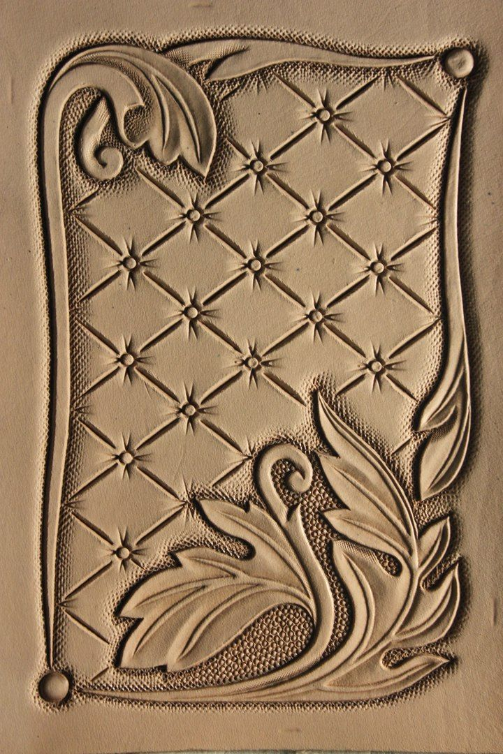graphic regarding Printable Leather Tooling Patterns referred to as Free of charge Leather-based Types Styles -