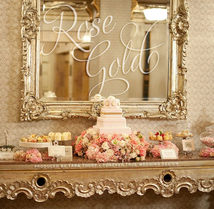 find this pin and more on rose gold wedding