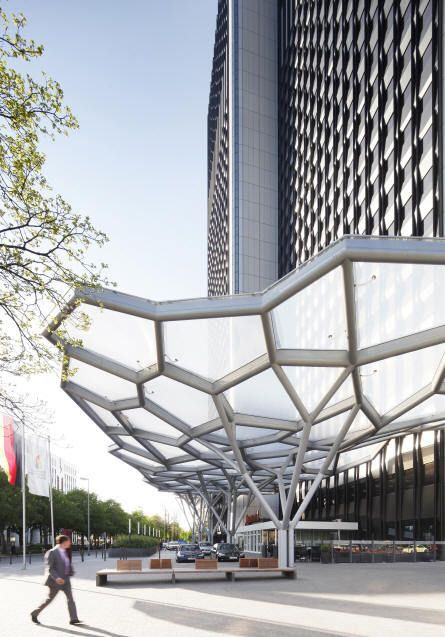 tree structure canopy | Asterios Agkathidis | Archinect