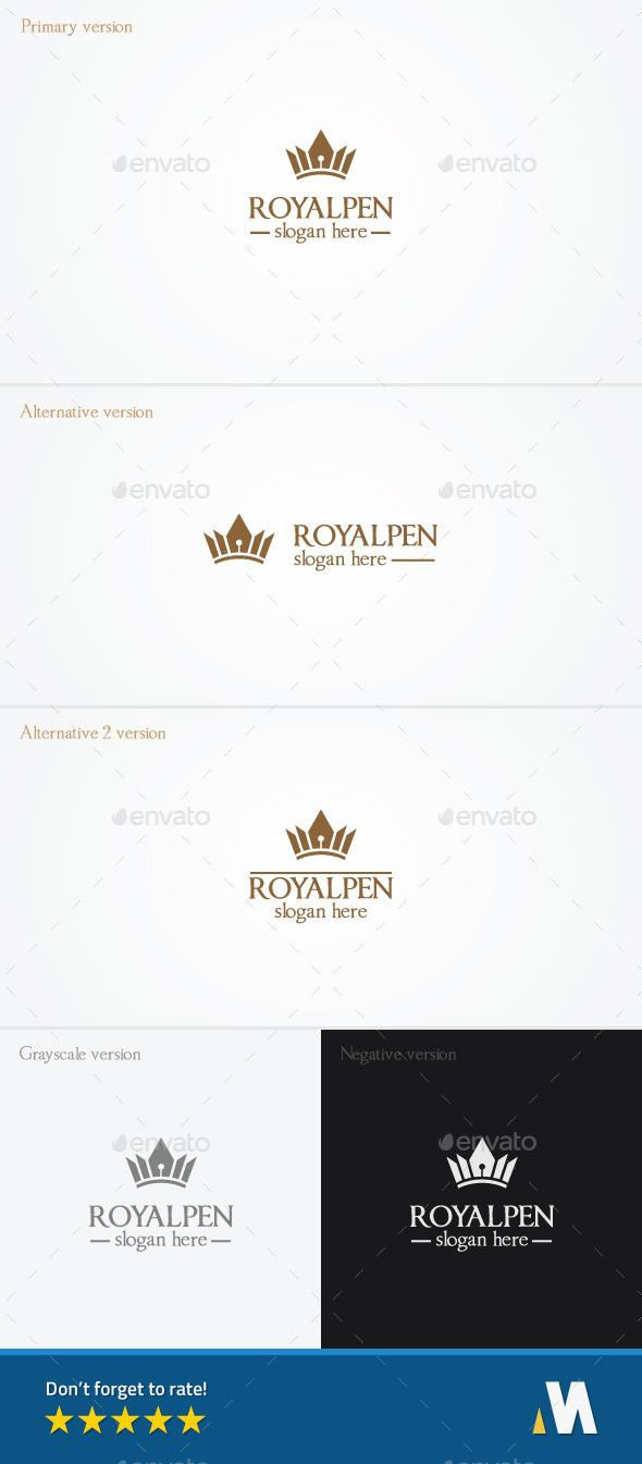 Royal Pen or King Author