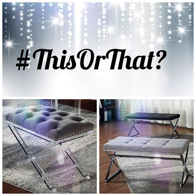 It's time to play #ThisOrThat featuring NEW Inspire accent pieces!  Leave your answers in the comments below~  inspireathome.com