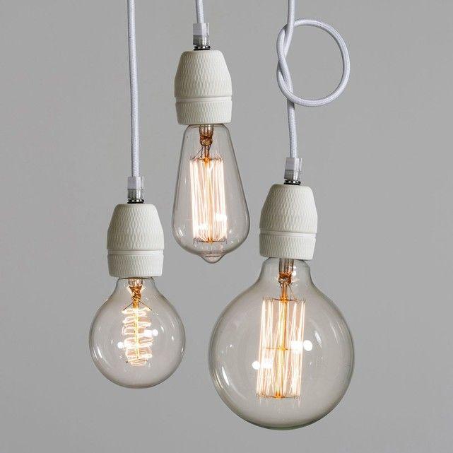 17 meilleures id es propos de douille ampoule sur pinterest lampadaire 3 lumi res luminaire. Black Bedroom Furniture Sets. Home Design Ideas