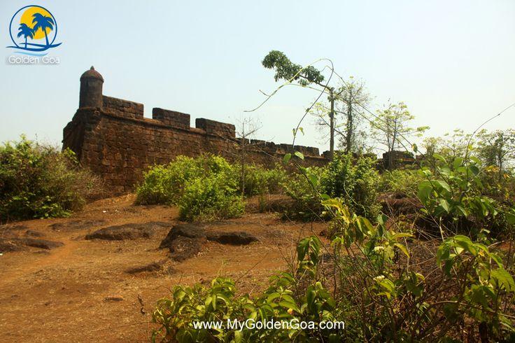 Corjuem Fort or Khorjuem Fort in Goa - Golden Goa