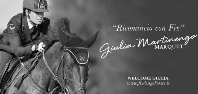 Giulia Martinengo Marquet: nuovo testimonial Fixdesign Horse Riding!
