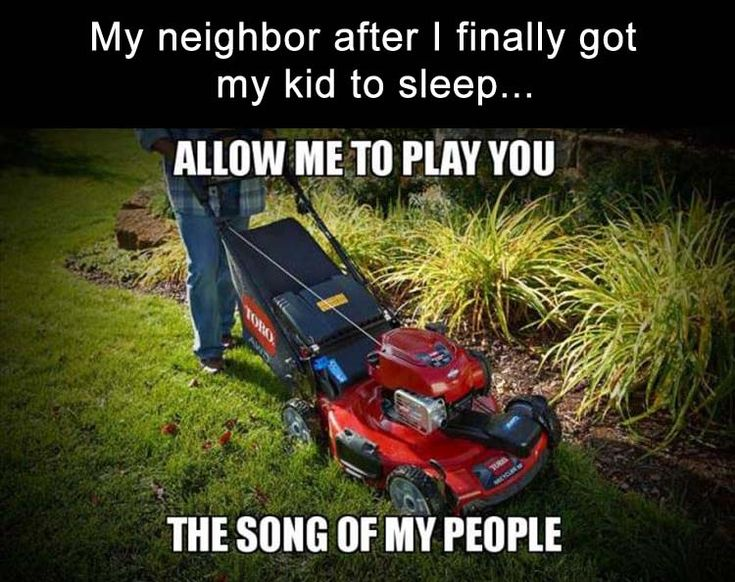 or the neighbors dog starts barking and does so for an hour, or someone has to rev their motor continuously