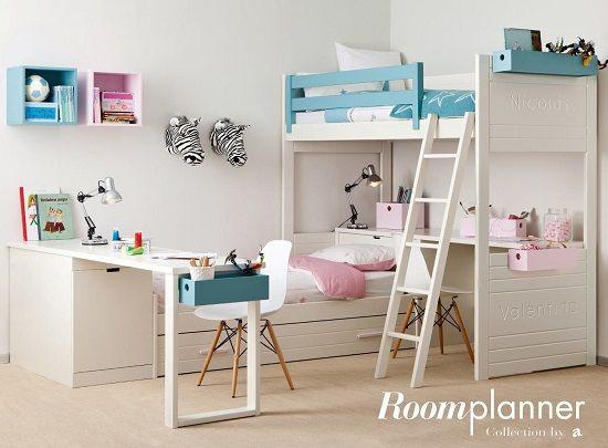 dormitorio juvenil habitacin infantil dormitorios infantiles juveniles camas infantiles muebles infantiles compartidas