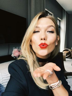 Karlie Kloss on taking the perfect selfie