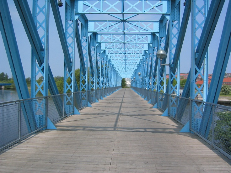 The Blue Bridge in Randers