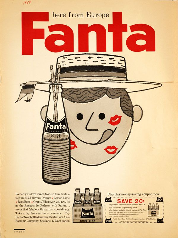 1959 Fanta Poster                                                                                                                                                     More