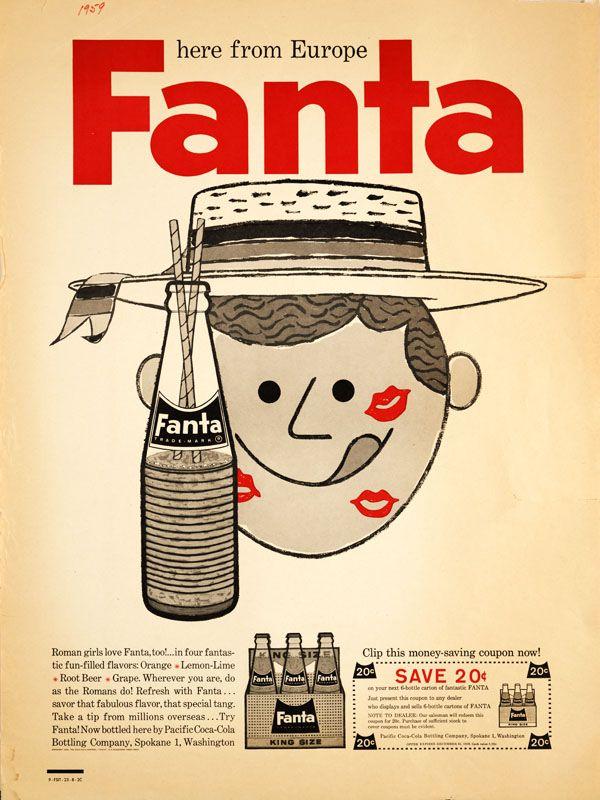 1959 Fanta Poster