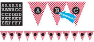 Picnic Party Red Gingham Personali...