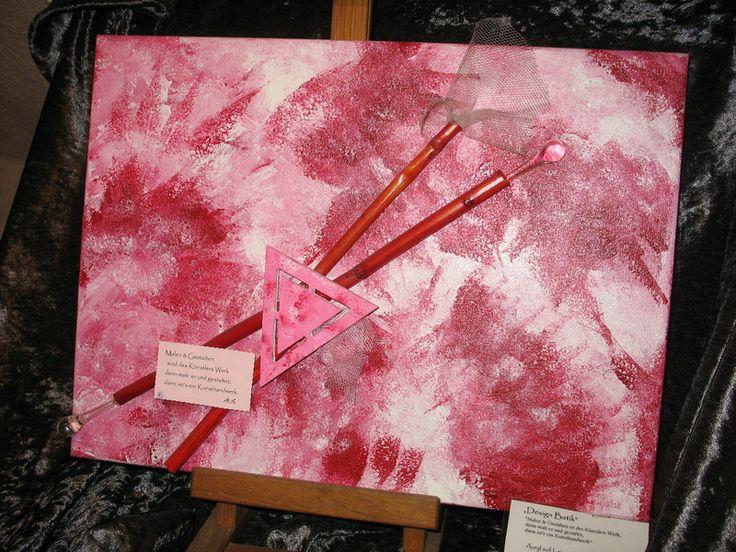 """Acrylmalerei - """"Design Batik"""" - ein Designerstück von n8kunst-z-wergk bei DaWanda"""