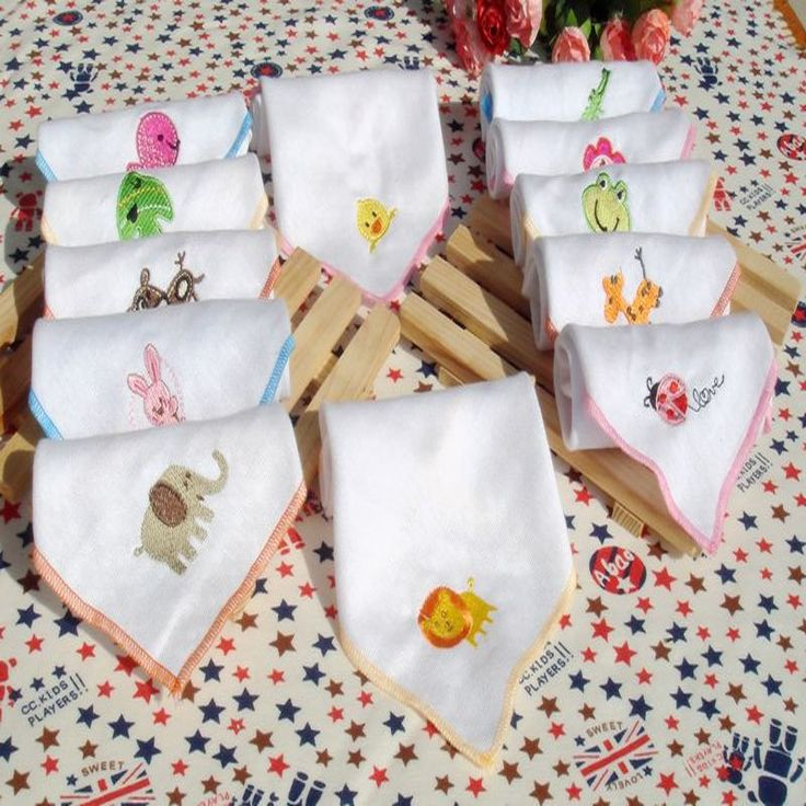 $2.27// Cotton Animal Embroidered Towels// Delivery: 2-4 weeks