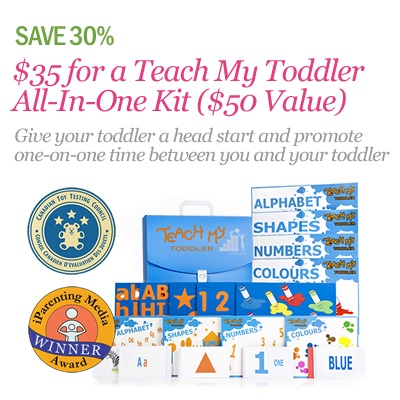 $35 for a Teach My Toddler All-In-One Kit   http://www.kuklamoo.com/offers/view/teachmytoddler