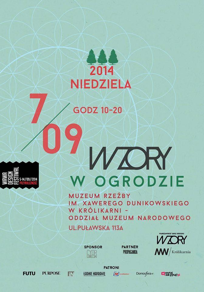 Oficjalny plakat V edycji   #wzory_targi