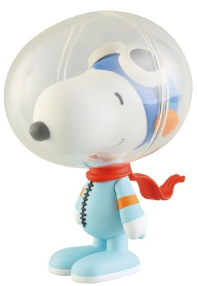 ASAP Peanuts Toy UDF 161 Snoopy Astronaut Ultra Detail Figure Medicom USA Seller #MedicomToy