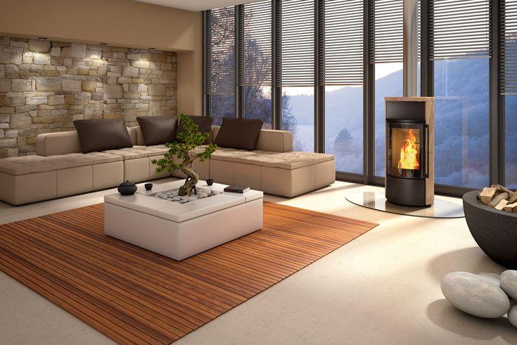 Ambiente A2  #kominki #wklady #piece #spartherm #zainspirujsie #salon #livingroom #wnetrza #interior #design #modern