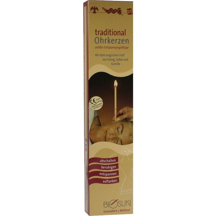 BIOSUN Ohrkerzen Traditional:   Packungsinhalt: 2 St PZN: 06773045 Hersteller: allcura Naturheilmittel GmbH Preis: 5,73 EUR inkl. 19 %…