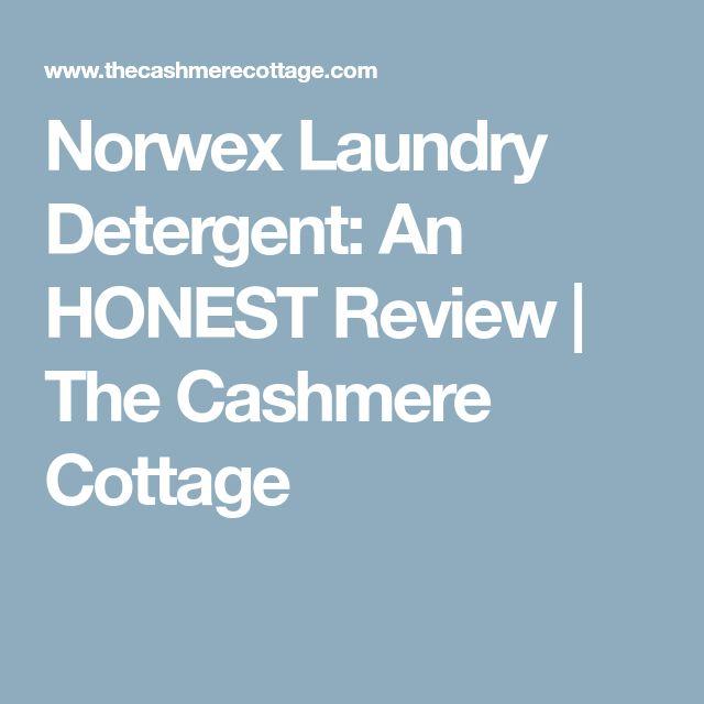 Norwex Laundry Detergent: An HONEST Review | The Cashmere Cottage