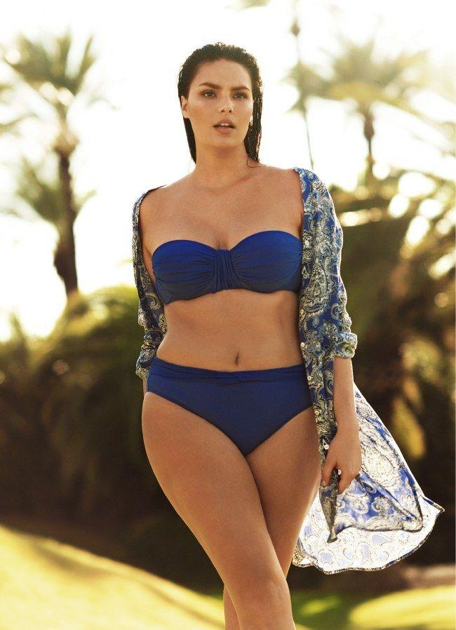 Bademode für Mollige - die besten Styling-Tipps - jetzt auf gofeminin.de http://www.gofeminin.de/styling-tipps/plus-size-bademode-s1296825.html #curves #curvy #summer #beachbabes #bikinis