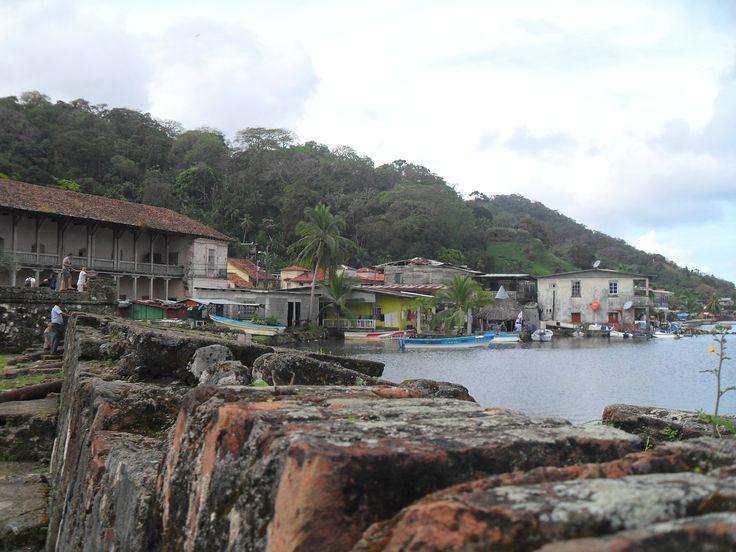 The pretty view of Portabelo