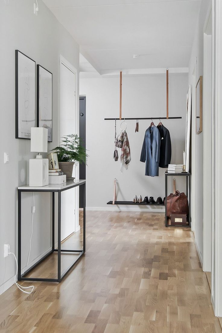 Clean & functional entryway