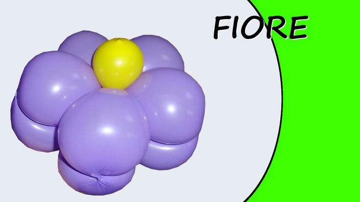 Video tutorial on how to make a flower with balloons twisting #flower #bracelet #circlet