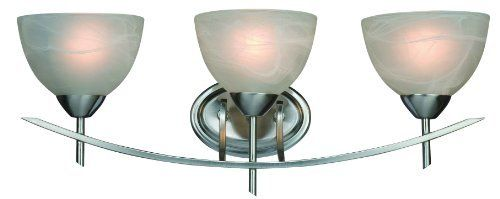 Hardware House 10-0557 Carlisle 3-Light Bath or Wall Light, Satin Nickel by Hardware House. $59.14. From the Manufacturer                Carlisle Series 3-Light Bath or Wall Light Satin Nickel.                                    Product Description                Dimable: TRUE.