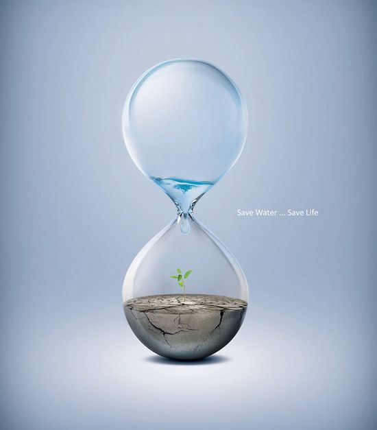 Save water... save life #greenpeace